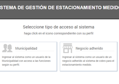e-stacionate login general